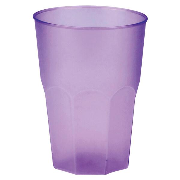 Verre cocktail incassable givre lilas