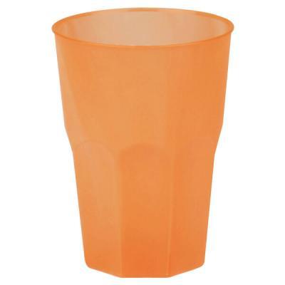 Verre cocktail incassable givré orange 350ml (x6) REF/53876