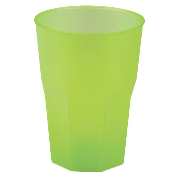 Verre cocktail incassable vert anis givre