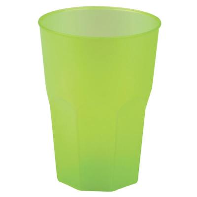 Verre cocktail incassable vert anis givré 31cl (x20) REF/53875