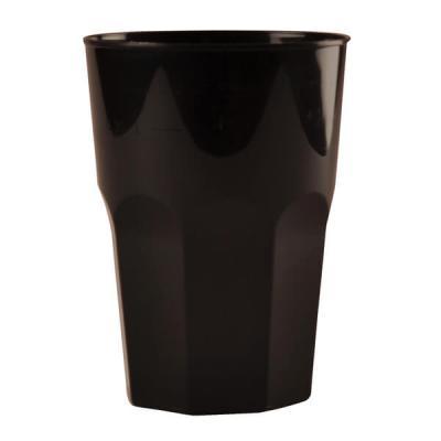Verre cocktail noir 42cl (x20) REF/54076