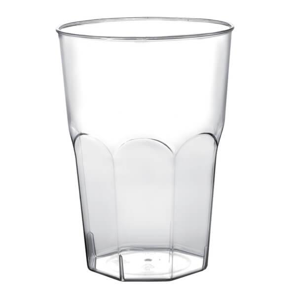 Verre cocktail transparent 2