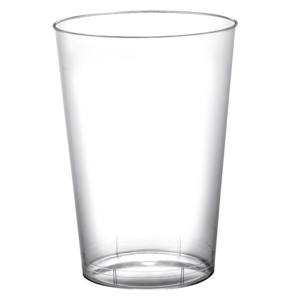 Verre plastique transparent