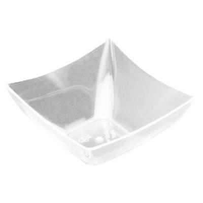 Verrine: Coupelle carrée transparente 9cl (x25) REF/56006
